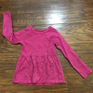 Pink long sleeve size 5
